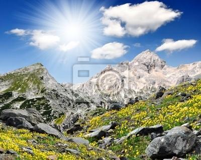 Mount Triglav in the Julian Alps - Slovenia, Europe
