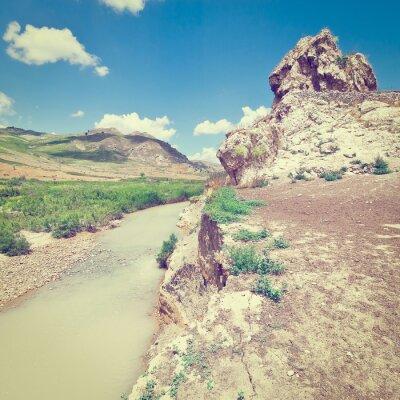 Wall mural Mountain Stream