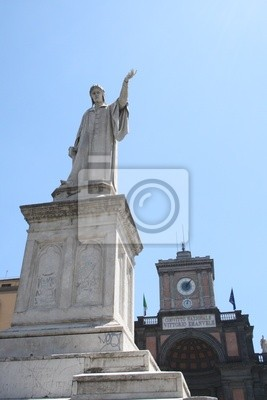 Naples -Piazza Dante - National College
