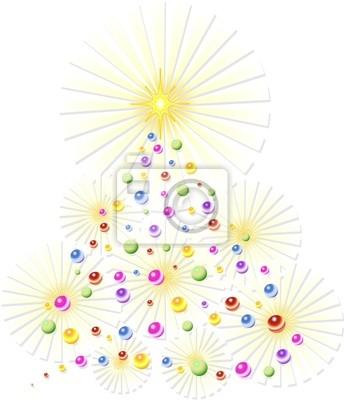 Natale Albero Astratto-Christmas Tree Abstract-2-Vector