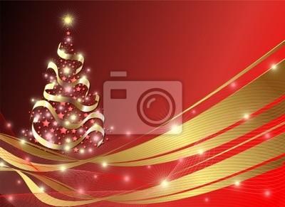 Natale Albero di Stelle Astratto-Abstract Christmas Tree Stars