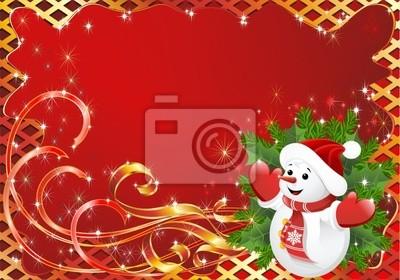 Natale Cartolina Auguri-Christmas Greeting Card-Vector-2