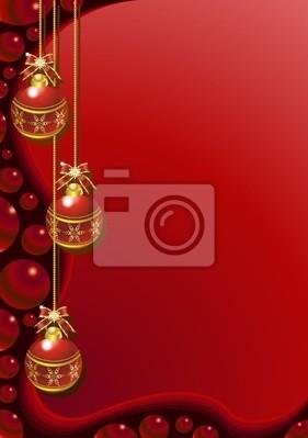 Natale Cartolina di Auguri-Merry Christmas Card-2-Vector