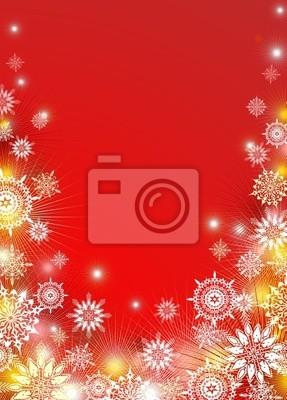 Natale Sfondo Neve-Abstract Christmas Background-Vector