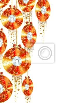 Natale Tecnologico-Christmas cd-dvd-Bluray-2-Vector