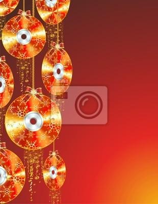 Natale Tecnologico-Christmas cd-dvd-Bluray-Vector