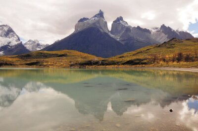 Wall mural National Park Torres del Paine.