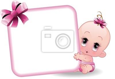 Neonato Femmina-Baby Girl-2-Vector