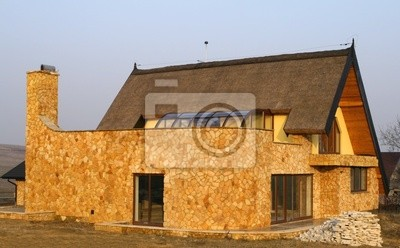 New house in Poland. Beautiful residential architecture.