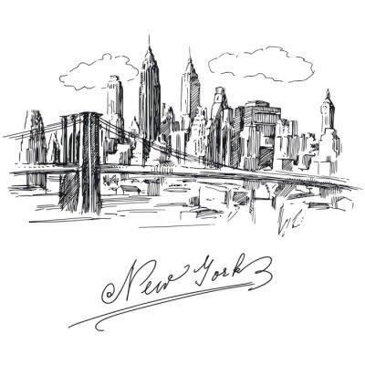 Wall mural New York
