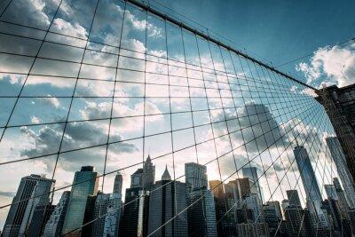 Wall mural New York,Brooklyn Bridge,