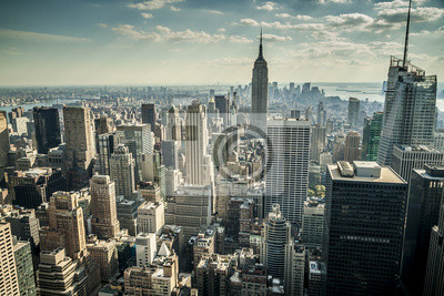 Wall mural New York City in the USA