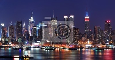 Wall mural New York City Manhattan