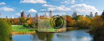 New York City Manhattan Central Park panorama