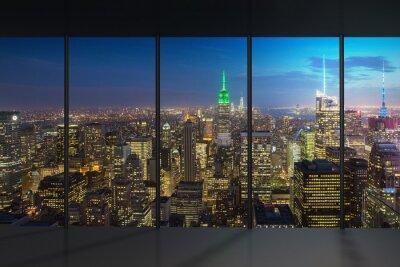 Wall mural New York Night View