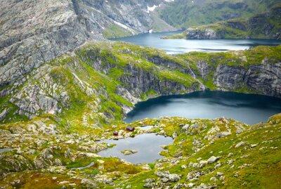 Wall mural Northern Norway landscapes. Lofoten islands