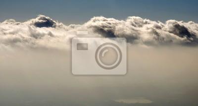 nuages ...vue aérienne