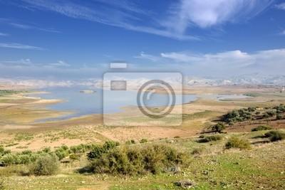 Nzala El Oudaia lake near Fes in the Middle Atlas