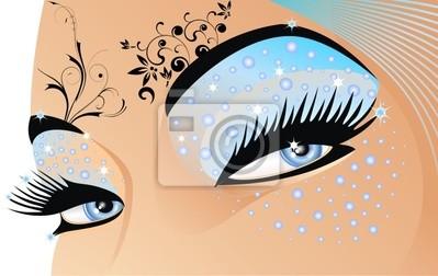 Occhi di Acqua-Water Eyes-Vector