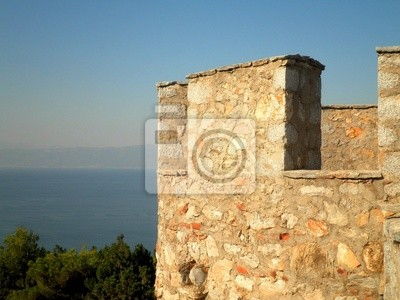 Ohrid Fortress Tower View