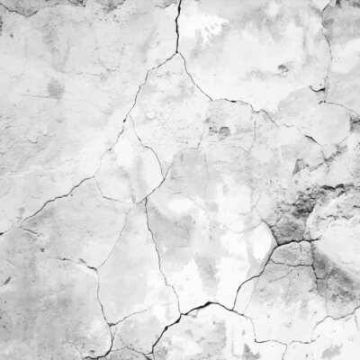 Wall mural old cracked plaster vector  texture