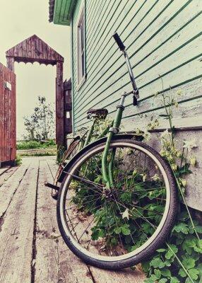 Wall mural Old retro bike.