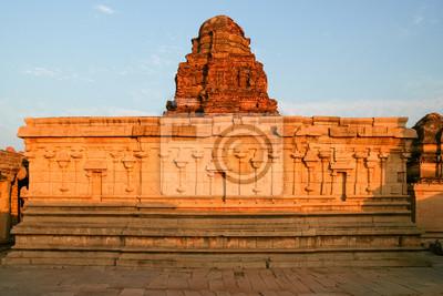 Old ruins in hampi india