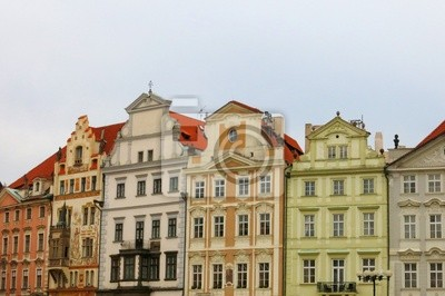 Old Town Prague Houses