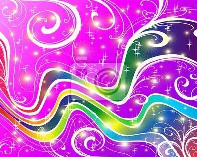 Onda Astratta Brillante a Colori-Abstract Bright Colors Wave