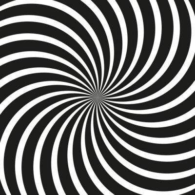 Wall mural Op Art Swirl Spiral Background