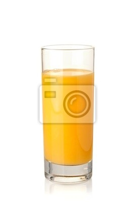 Wall mural Orange juice in highball glass