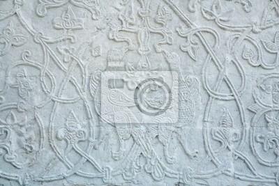 Wall mural ornament