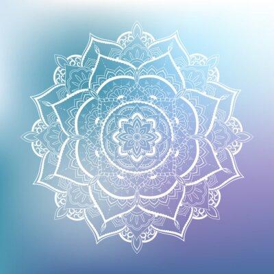 Wall mural Ornamental circle pattern. Mandala