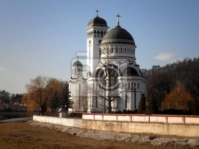 Wall mural Orthodox Church in Romania
