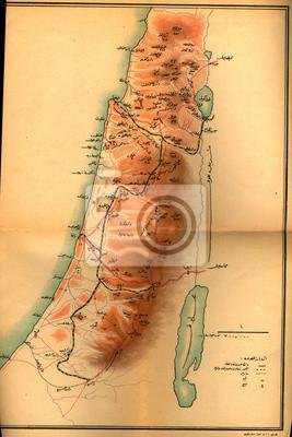 Ottoman Empire vintage map