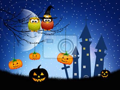 owls of Halloween