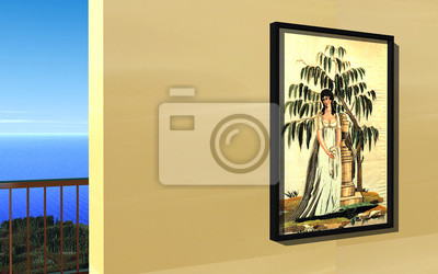 Wall mural Painting - 3D