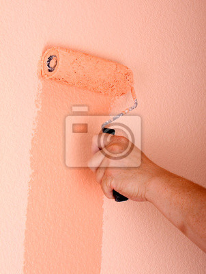 Wall mural painting