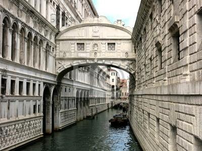 Palace Bridge Venice Italy