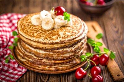 Wall mural pancakes
