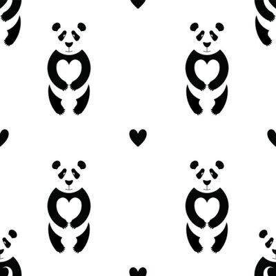Wall mural Panda pattern 6