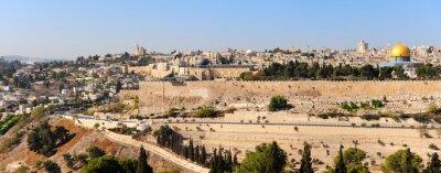 Wall mural Panorama of Jerusalem