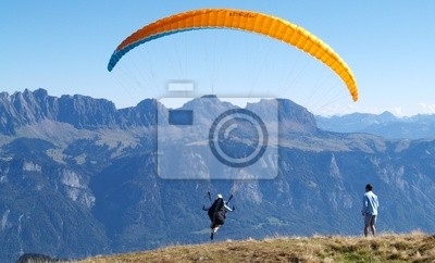 Wall mural paragliding... Extreme