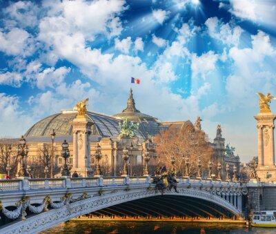 Wall mural Paris buildings and landmarks