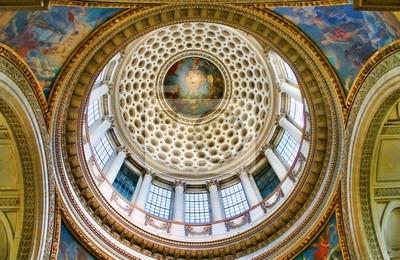Paris-Inside the Pantheon