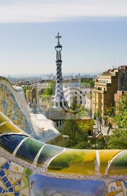 Wall mural Park Guell, Barcellona
