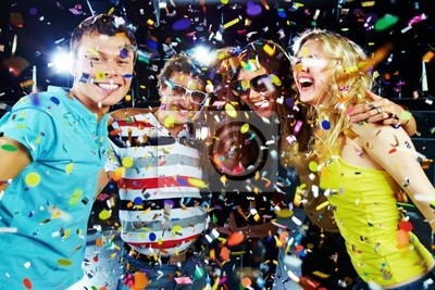 Party excitement