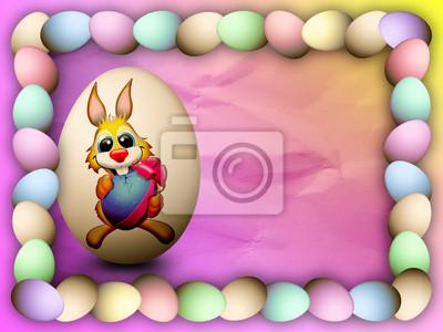 Pasqua con coniglio-Paques et Lapin-Easter Rabbit