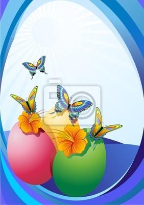 Pasqua Primavera-Springtime Easter Eggs-Oeufs Printemps