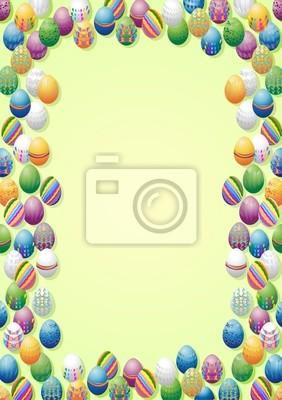 Pasqua Sfondo-Easter Eggs Background-Paques Arrière Plan